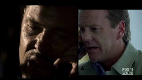 Tony Almeida and Jack Bauer in 24