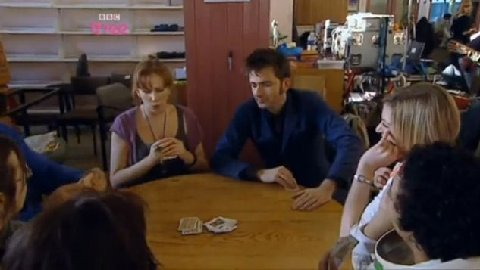 Toby's Sitting Tennant - David Tennant and Catherine Tate playing cards