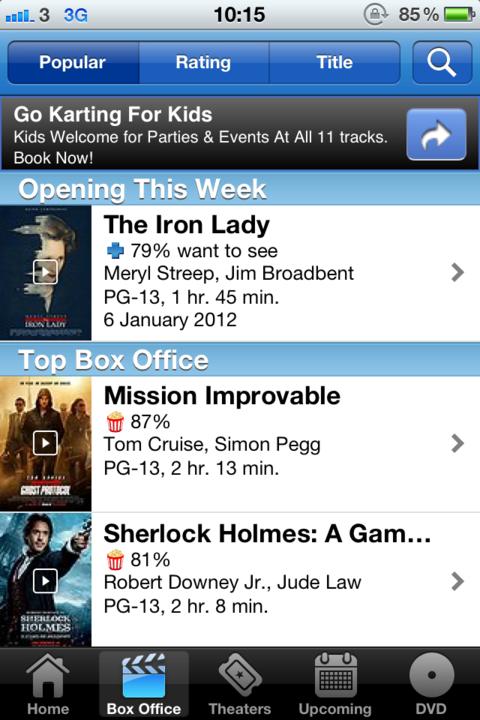 Flixster renames Mission Impossible