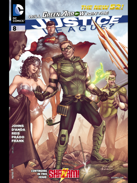 Justice League #8 cover