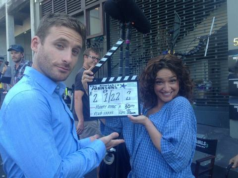 Dean O'Gorman and Keisha Castle-Hughes start filming season 3 of The Almighty Johnsons