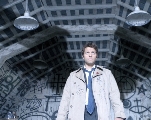 Castiel the Angel in Supernatural