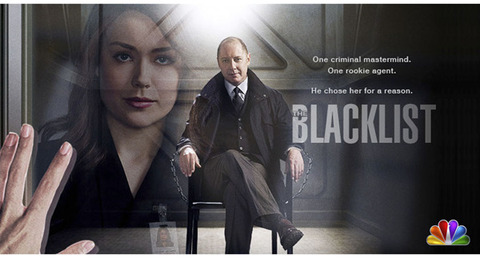 NBC's Blacklist with James Spader and Megan Boone