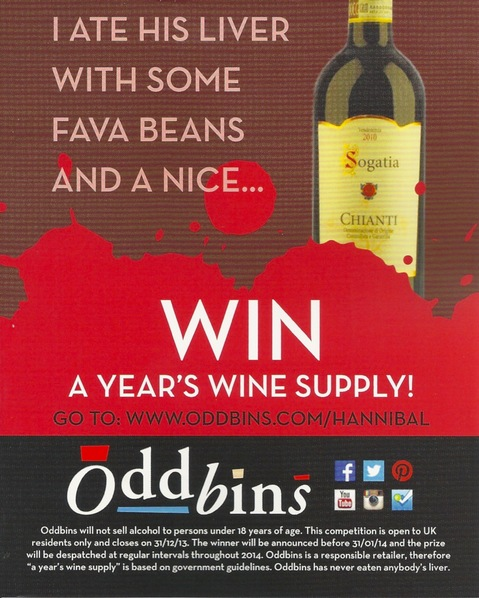 Oddbins' Hannibal competition