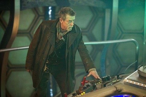 John Hurt as the ninth Doctor Who