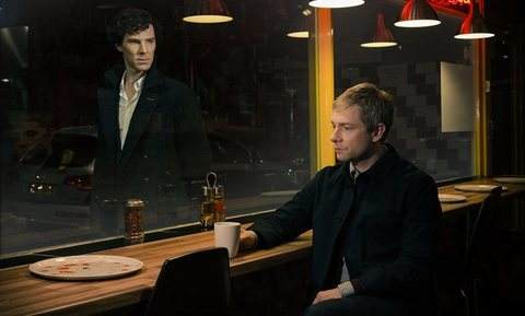 Sherlock season 3 - first official image