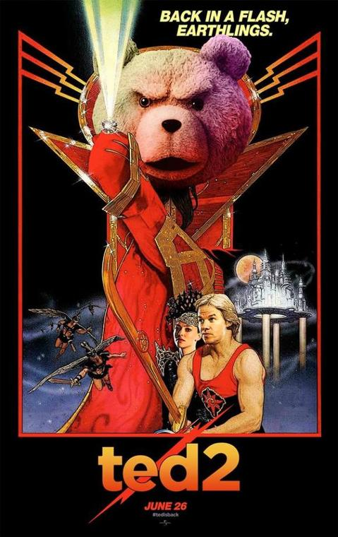 Flash Gordon Ted poster