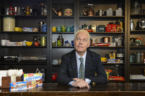 Gunther in Central Perk