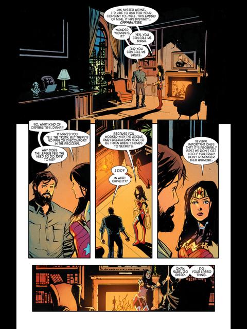 Bruce and Diana talk