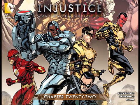 Injustice: Gods Among Us: Year Four #22