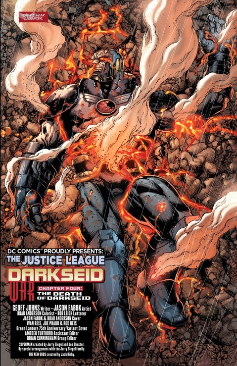 Darkseid is dead!