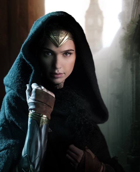 Gal Gadot as Wonder Woman in Wonder Woman