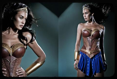 Megan Gale as Wonder Woman in Justice League: Mortal