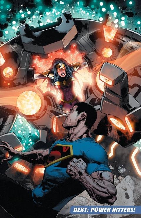Wonder Woman possessed