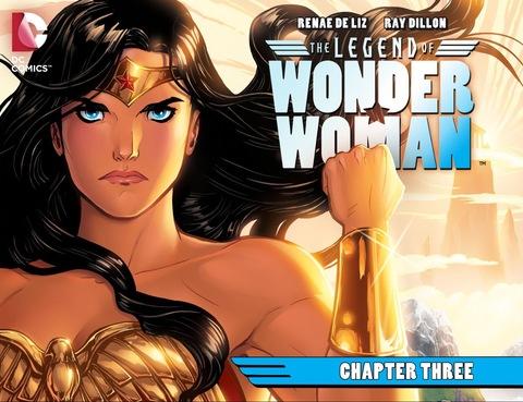 The Legend of Wonder Woman #3