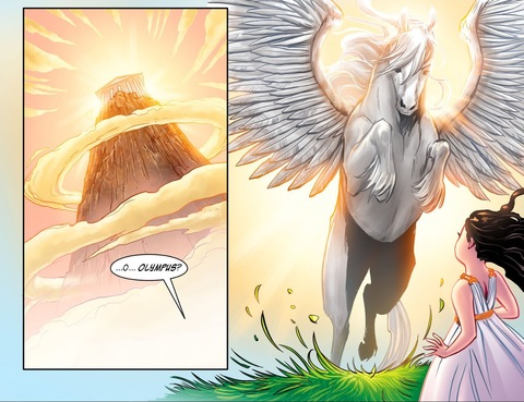 Olympus and Pegasus