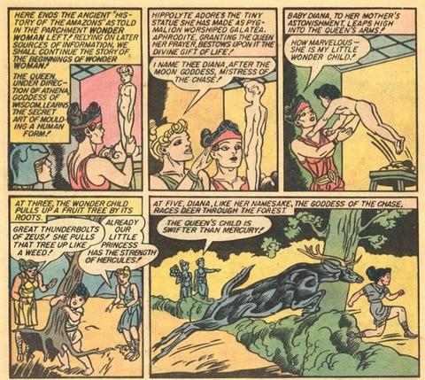 Wonder Woman is born in Wonder Woman #1
