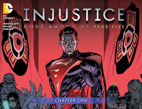Injustice Gods Among Us: Year Five