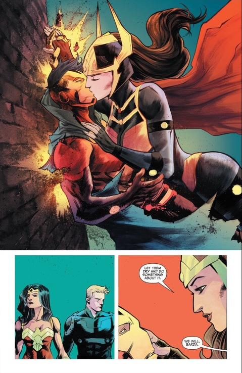 Barda and Scott, Diana and Steve