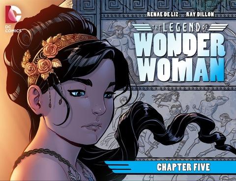 The Legend of Wonder Woman #5