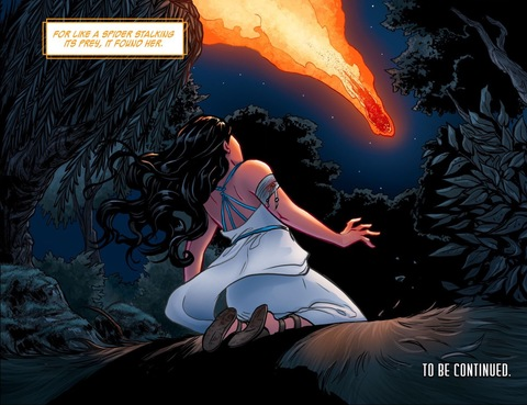 Fate arrives on Themyscira