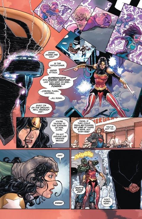 Wonder Woman drained again