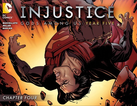 Injustice Gods Among Us: Year Five #4