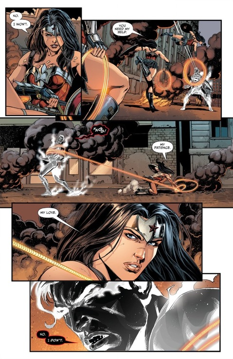 Wonder Woman loves Superman