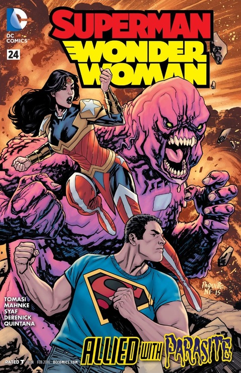 Superman-Wonder Woman #24