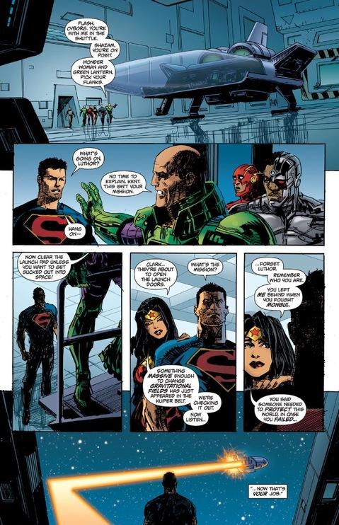 Superman gets left behind