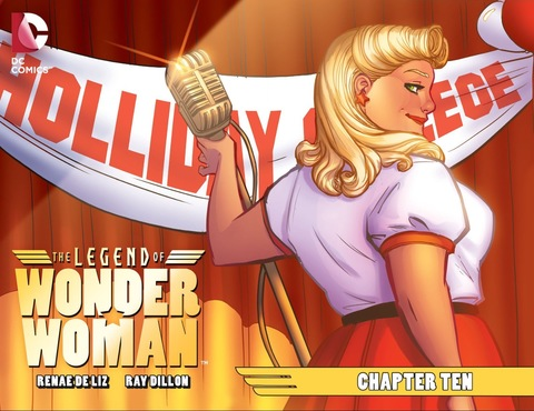 The Legend of Wonder Woman #10