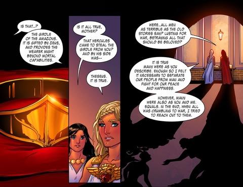 Wonder Woman's girdle