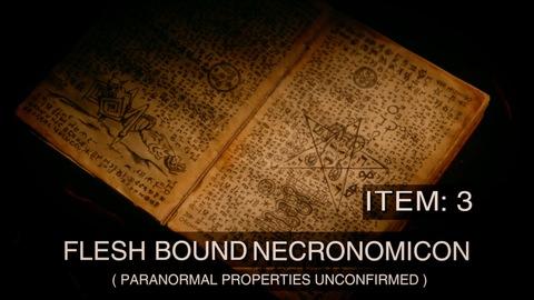 A flesh-bound Necronomicon