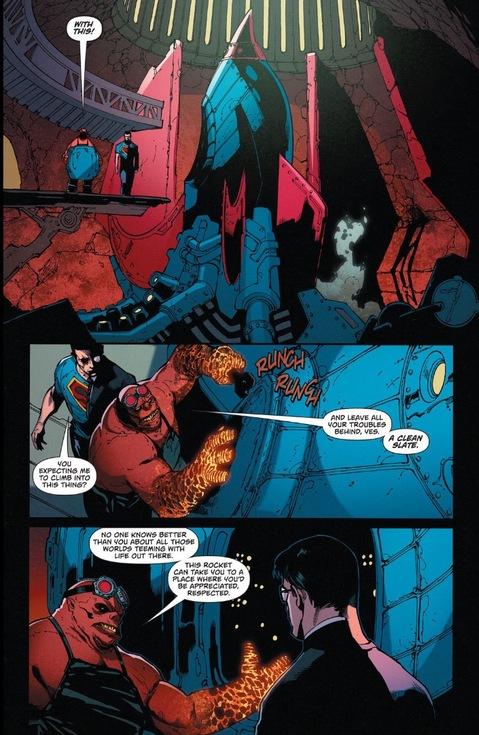 Superman and Hephaestus