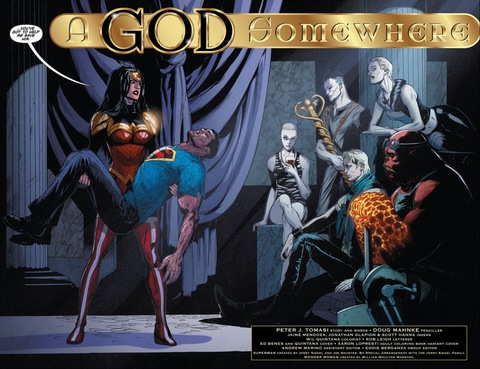 Wonder Woman asks the gods for help