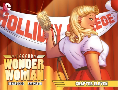 The Legend of Wonder Woman #11