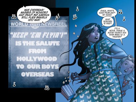 Wonder Woman at the movies