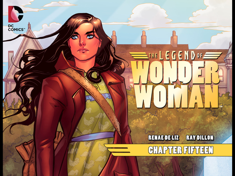The Legend of Wonder Woman #15