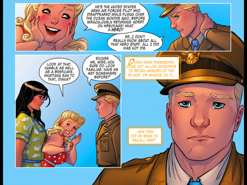 Steve almost remembers Diana