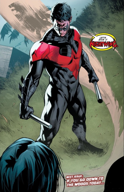 Nightwing returns