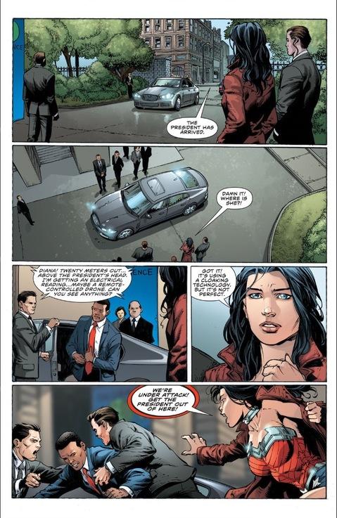 Undercover Wonder Woman