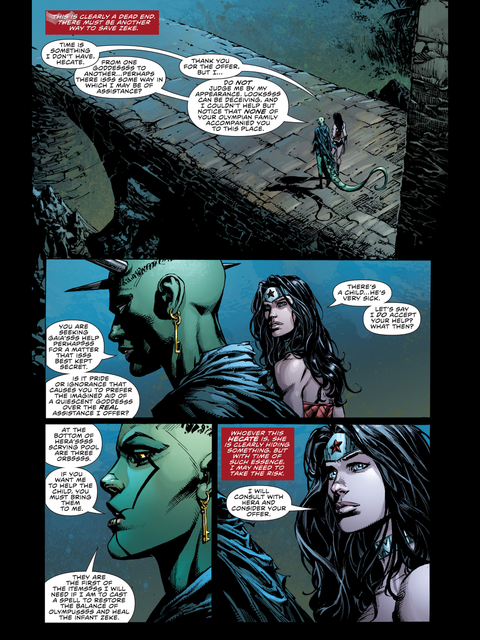 Hekate asks for Wondy's help