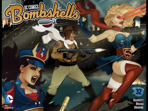DC Bombshells #32