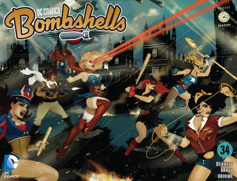 DC Bombshells #34
