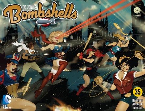 DC Comics: Bombshells #35
