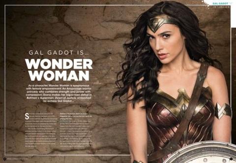 Gal Gadot is Wonder Woman…