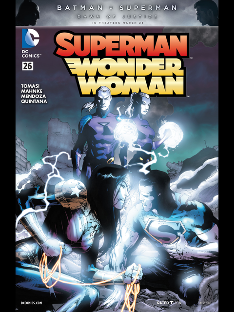Superman-Wonder Woman #26