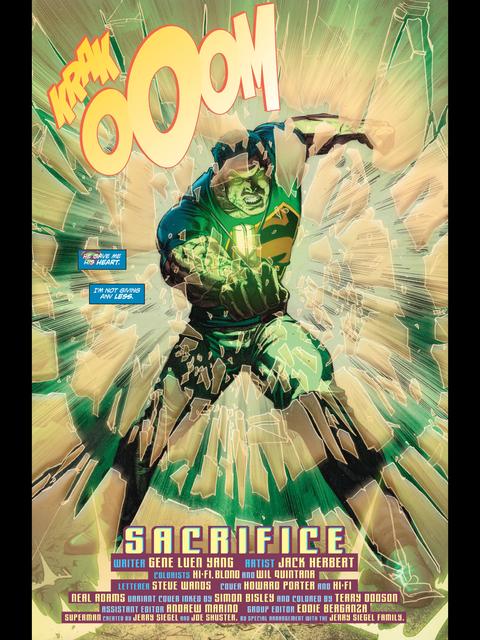 Superman has more kryptonite