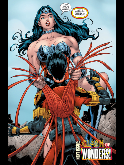 Wonder Woman's annoyed her flat has been burgled