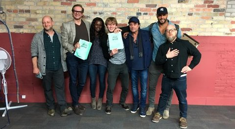 Table read through for Starz's American Gods
